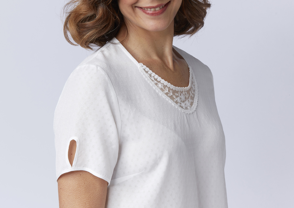 Tee-shirt blanc Houat