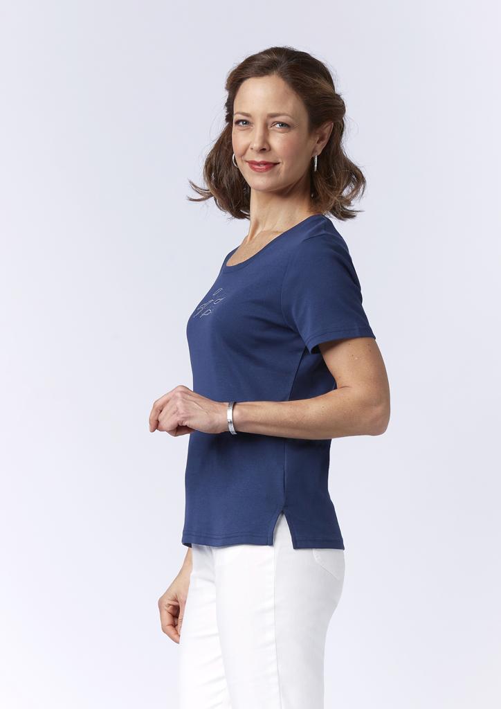 Tee-shirt bleu Telio