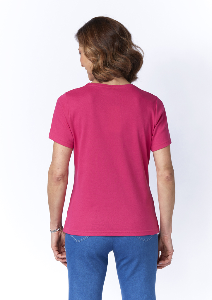 Tee-shirt rose Telma