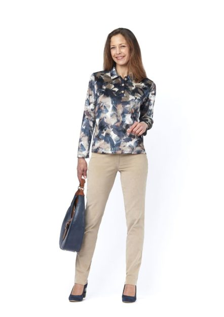pantalon femme velours chiza isis collection