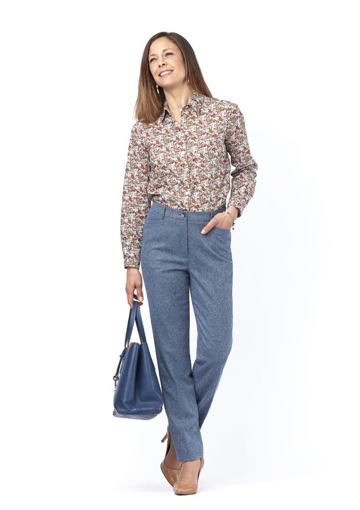 pantalon bleu elizy isis collection