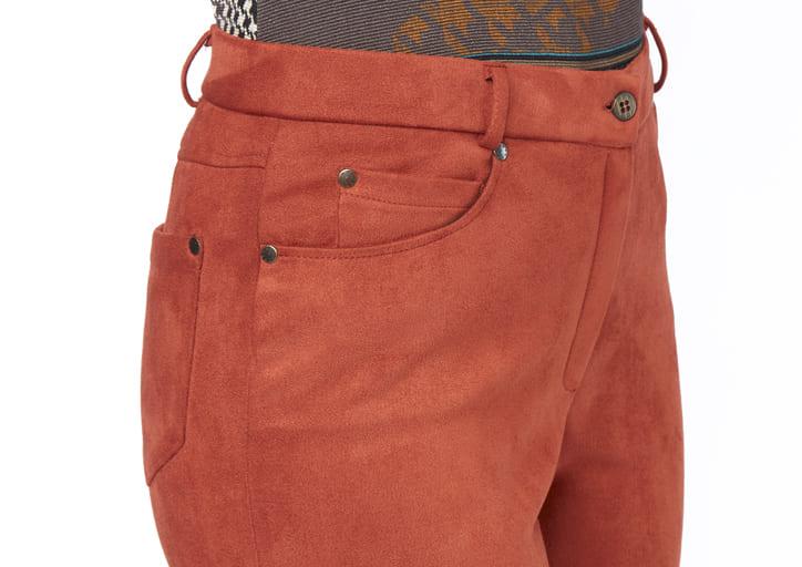 pantalon terra cotta
