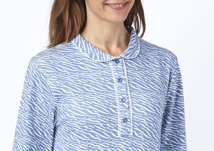 chemise de nuit imprimée
