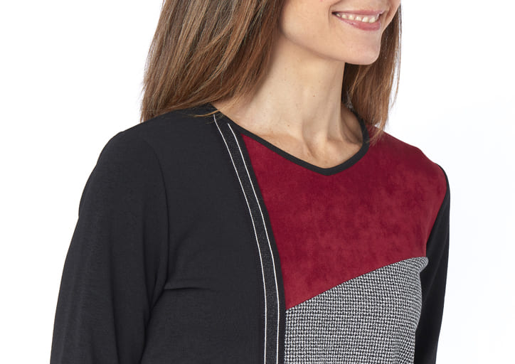 tee-shirt patchwork